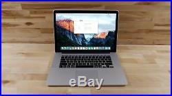 Apple MacBook Pro (15-inch Mid 2014) 2.5 GHz Intel core i7 512GB SSD 16GB RAM