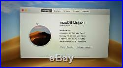 Apple MacBook Pro (15-inch Mid 2015) 2.5 GHz Intel core i7 500GB SSD 16GB RAM