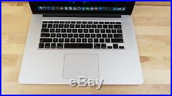 Apple MacBook Pro (15-inch Mid 2015) 2.8 GHz Intel core i7 1TB SSD 16GB RAM