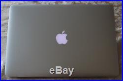 Apple MacBook Pro 15-inch Mid 2015 2.8 GHz core i7 512GB SSD Radeon GFX 16GB RAM