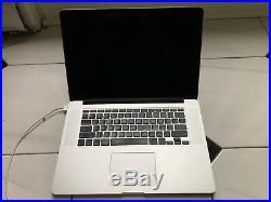 Apple MacBook Pro 15 inch Mid 2015 Intel i7 16GB RAM Laptop for parts / repair