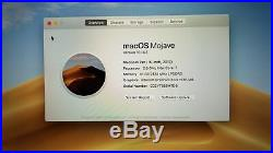 Apple MacBook Pro (15-inch Mid 2017) 2.8 GHz Intel core i7 256GB SSD 16GB RAM