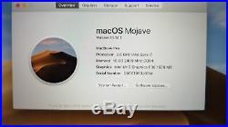 Apple MacBook Pro (15-inch Mid 2018) 2.6 GHz Intel core i7 512GB SSD 16GB RAM