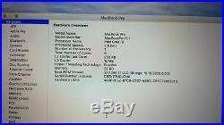 Apple MacBook Pro (15-inch Mid 2018) 2.9 GHz Intel core i9 512GB SSD 32GB RAM