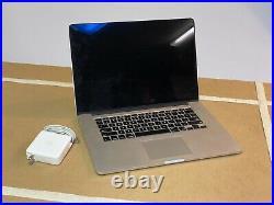 Apple MacBook Pro 15 inch Retina Display Mid-2015 2.5GHz Intel Core i7 512GB SSD