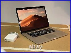Apple MacBook Pro 15 inch Retina Mid-2015 2.5GHz Intel Core i7 512GB EMC 2910