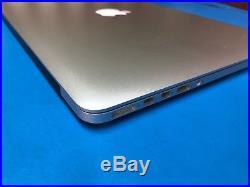 Apple MacBook Pro 15 mid 2015 2.2ghz i7 quad 16gb Ram NO SSD WATER DAMAGE