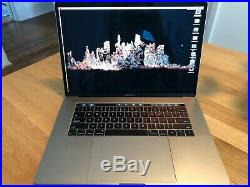 Apple MacBook Pro 15 mid 2017 with Touchbar and Touch ID, 512GB Space Gray