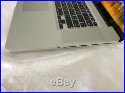 Apple MacBook Pro 17-Inch Core 2 Duo 2.53 500 SSD Mid 2010-New Battery + SSD