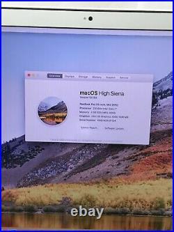 Apple MacBook Pro 9,1 A1286 Mid-2012 Core i7-3720QM 2.6GHz 15 4GB 500GB READ