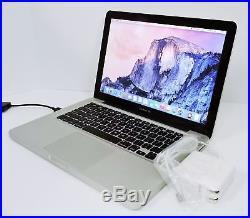 Apple MacBook Pro A1278 13.3 Core 2 Duo 2.4GHz 4GB 320GB MC374LL/A (Mid 2010)