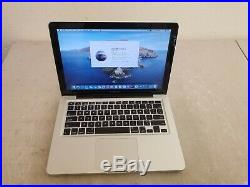 Apple MacBook Pro A1278 13 Mid 2012 Core i5 2.5GHz 8GB RAM 1TB HDD Laptop