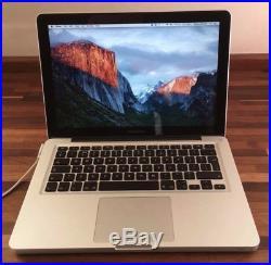Apple MacBook Pro A1278 Mid 2012 Intel i5-3210M 8GB RAM 500GB HDD 13 Laptop