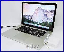 Apple MacBook Pro A1286 15.4 Core i5 2.4GHz 4GB 320GB MC371LL/A (Mid 2010)