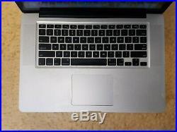 Apple MacBook Pro A1286 Mid 2012 Core i7-3615QM 2.3 GHz 8 GB RAM 500 GB HDD 15