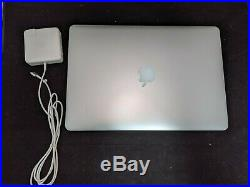 Apple MacBook Pro A1398 15.4 I7-2.8Ghz 16G Ram (Mid 2015) 256GB SSD Laptop
