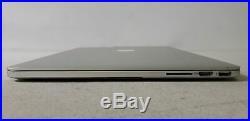 Apple MacBook Pro A1398 Mid 2014 15 i7-4770HQ 2.2GHz 16GB 256GB SSD MGXA2LL/A