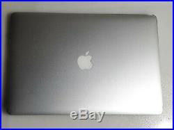 Apple MacBook Pro A1398 Mid 2014 Core i7-4980HQ 2.8 GHz 16 GB NO HDD 15.4 Read