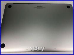 Apple MacBook Pro A1398 Mid 2015 15 I7 4870HQ@2.5 GHz 16GB Ram 512GB SSD