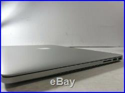 Apple MacBook Pro A1398 (Mid 2015) Core i7-4770HQ 15.4 16GB No HDDFOR PARTS
