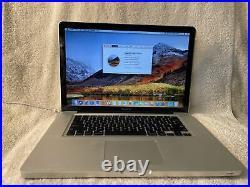 Apple MacBook Pro MC373LL/A Core i7 2.66 15 4GB RAM 250GB HDD (Mid-2010)