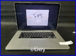 Apple MacBook Pro MC976LL/A Core i7 2.6 15 8GB Retina 512GB (Mid-2012)-FR9733