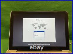 Apple MacBook Pro Mid 2010 13 A1278 Core 2 Duo 2.4GHz 4GB RAM 320GB HDD GRADE C