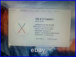 Apple MacBook Pro Mid-2012 13 500GB SSD 2.5 GHz i5 Original Box
