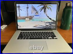 Apple MacBook Pro Mid-2012 15-Inch Retina 8GB RAM 250GB SSD Core i7 Fast Ship