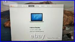 Apple MacBook Pro Mid 2014 15.4 i7-4980HQ@2.80GHz 16GB RAM 256GB SSD A1398 IG