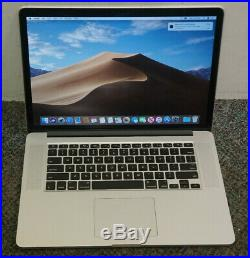 Apple MacBook Pro Mid 2015 15 Retina 2.2 GHz Core i7 256 GB SSD 16GB RAM A1398