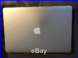 Apple MacBook Pro Mid 2015 15 Retina 2.56 GHz Core I7 256 GB SSD 16gb RAM