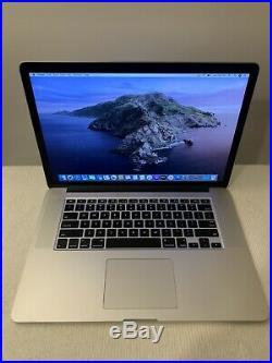 Apple MacBook Pro Mid 2015 15 Retina I7 2.5ghz 16gb RAM 512GB SSD