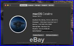 Apple MacBook Pro Retina 13-inch Mid 2014 3.0GHz i7 8GB 1TB SSD