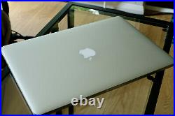 Apple MacBook Pro Retina 15.4 500SSD 16GRam 2.5GHz core i7- mid2015 Fast