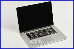 Apple MacBook Pro Retina 15 Mid-2014 i7 2.5Ghz 512 SSD 16GB RAM NVIDIA 750GT2GB