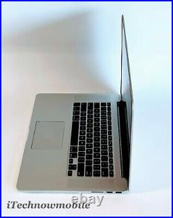 Apple MacBook Pro Retina 15 Mid 2015 16GB RAM 512GB SSD Quad Core i7 2.8GHz