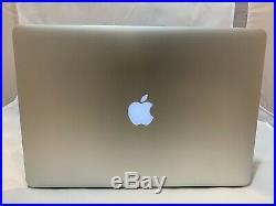 Apple MacBook Pro Retina 15 Mid 2015 2.5 i7 16GB 500 SSD Dual Graphics Radeon