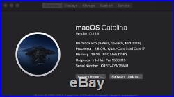 Apple MacBook Pro Retina 15 Mid-2015 2.8GHz i7 Quad Core 16GB 512GB SSD