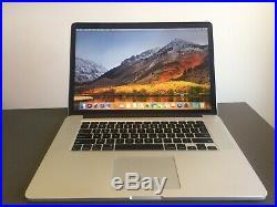 Apple MacBook Pro (Retina 15 Mid-2015) Core i7,16G Ram, 1TB SSD. Shipped Fed