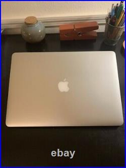 Apple MacBook Pro Retina 15 Mid 2015 Core i7-4870HQ 2.5GHz 16GB RAM 512GB SSD m2