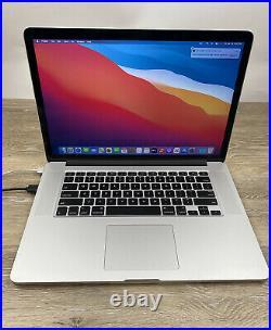 Apple MacBook Pro Retina 15 Mid 2015 Laptop i7 2.80GHz 16GB RAM 512GB SSD A1398