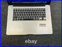 Apple MacBook Pro Retina 15 (Mid 2015) i7 2.2GHz 16GB 256GB Screen Wear