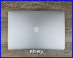 Apple MacBook Pro Retina 15 Quad Core i7-4980HQ 16GB Ram 512GB SSD Mid-2015
