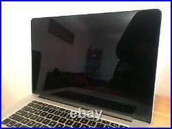 Apple MacBook Pro Retina 15 i7 Mid-2015 250GB SSD 16GB RAM read details