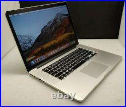 Apple MacBook Pro Retina 15-inch Mid-2015 16GB 512GB 2.8ghz i7