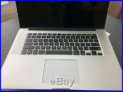 Apple MacBook Pro Retina 15-inch Mid-2015 16GB RAM / 256GB SSD / 2.2ghz i7