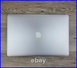 Apple MacBook Pro Retina 15-inch Mid 2015 16GB RAM 512GB SSD 2.8Ghz i7 Dual GPU