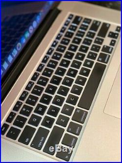 Apple MacBook Pro (Retina, 15-inch, Mid 2015) 2.8 GHz i7 16GB Ram 512GB SSD