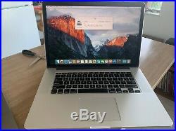 Apple MacBook Pro Retina, 15-inch, Mid 2015, 2.8GHz Intel Core i7 1TB Storage